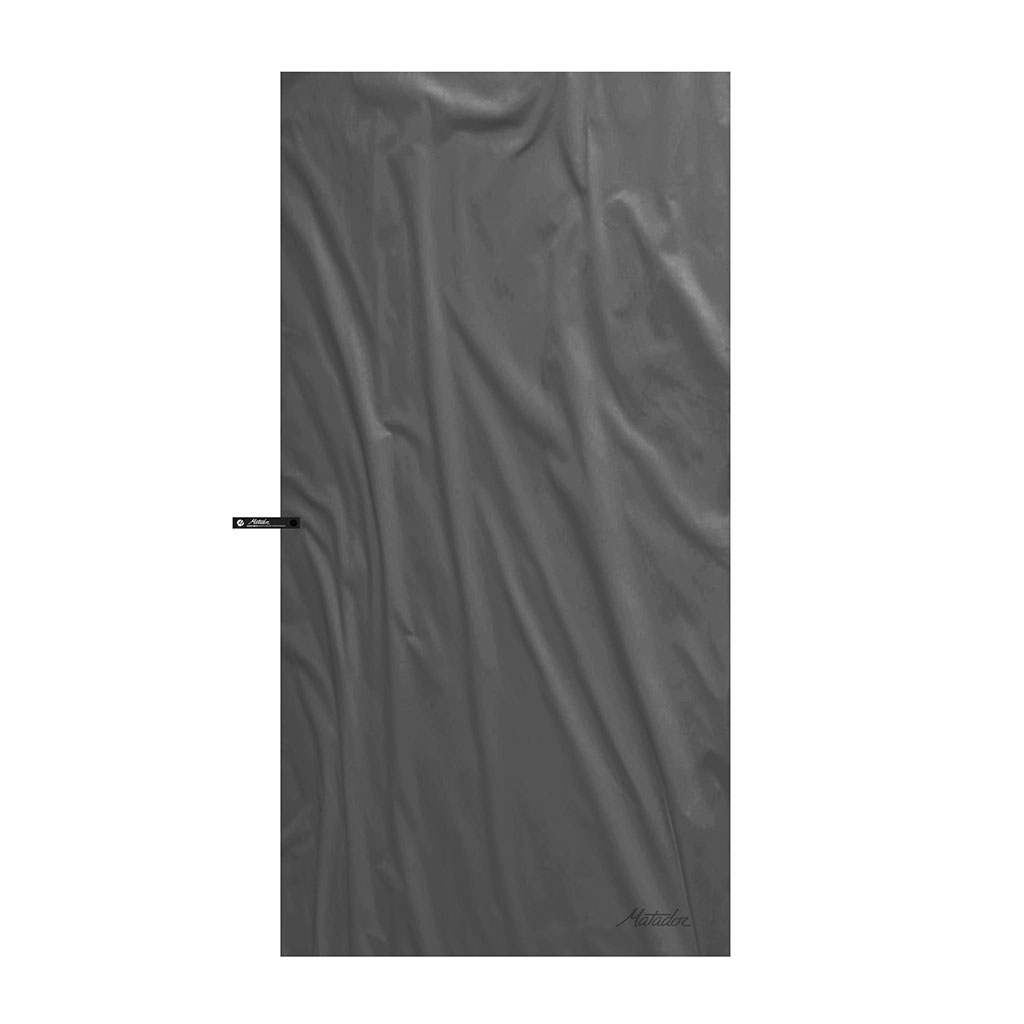 Matador Nanodry Large shower towel charcoal