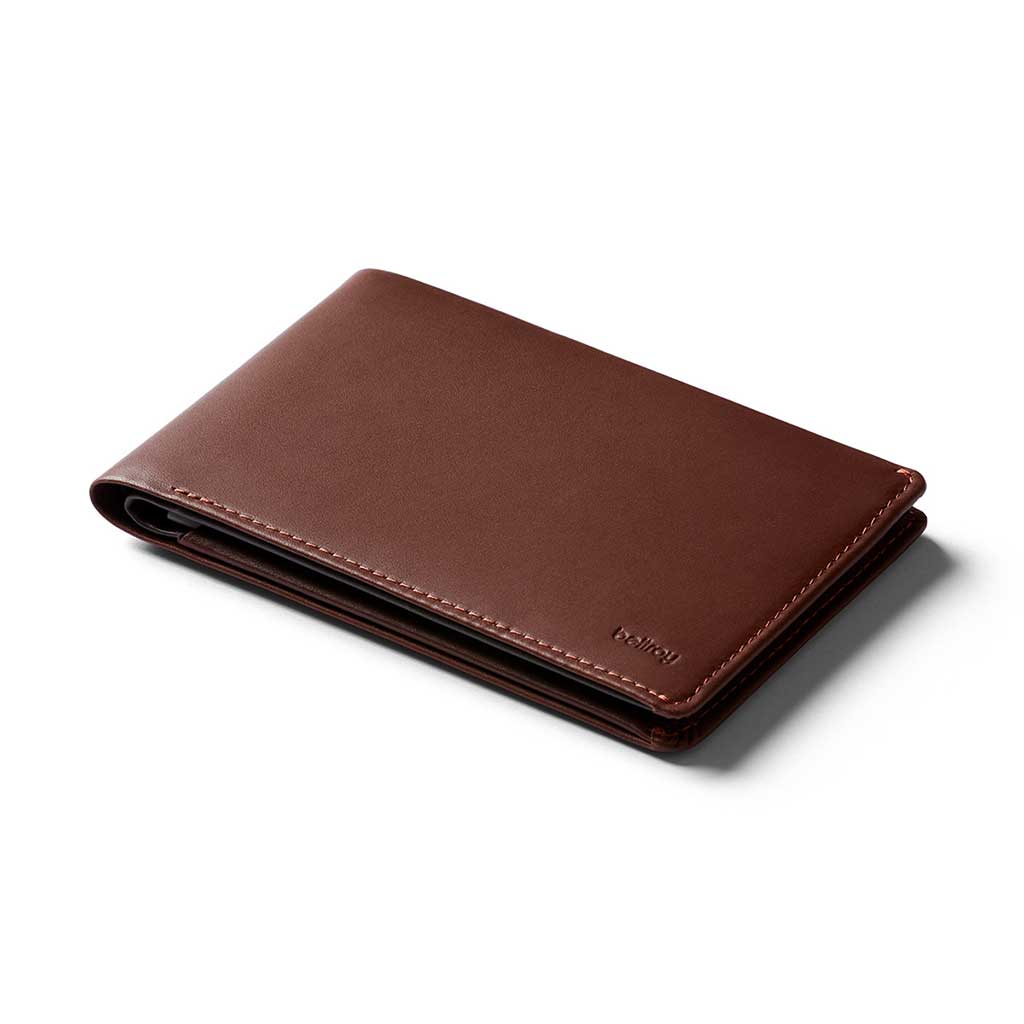 Bellroy RFID Leather Travel Wallet - Cocoa
