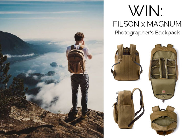 Filson Adventure Photographer's Backpack Competition